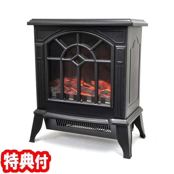 《200円クーポン配布》 暖炉型ファンヒーター 暖房 インテリア リビング 暖炉型ヒーター VS-HF4200BK ベルソス アンティークデザイン 暖炉型ヒーター VSHF4200BK 暖炉型電気ストーブ 暖炉ヒーター おしゃれ VS-HF3201 の後継 あ