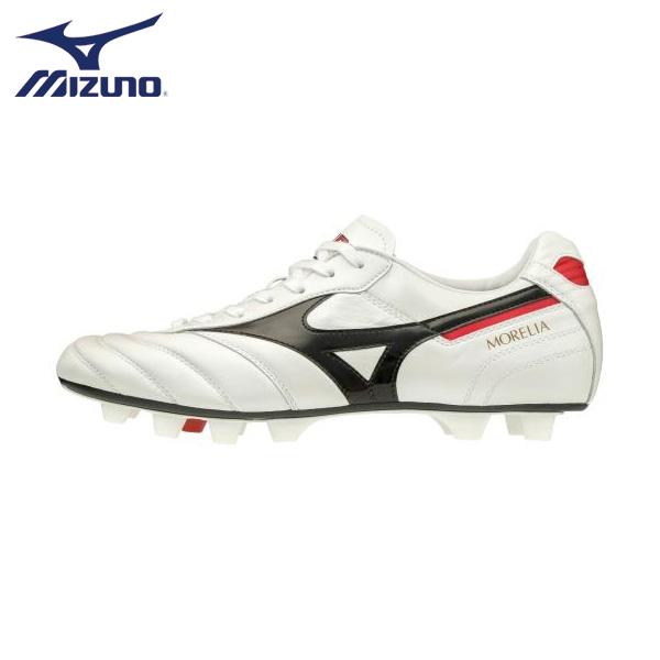 ミズノ サッカー スパイク MIZUNO 大人 カンガルー 皮革 最軽量 モレリア2 JAPAN MORELIA ホワイト P1GA2001