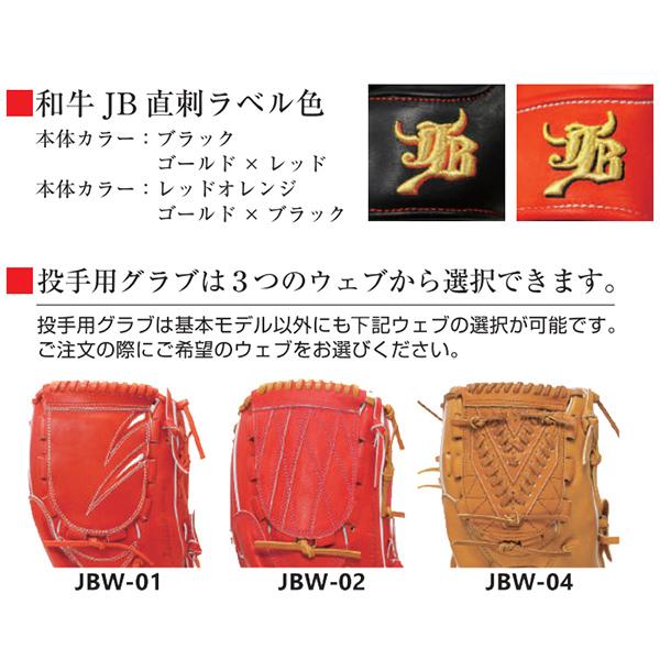 【楽天市場】野球 一般用 硬式 グラブ 投手用 JB JB-001Y ボール ...