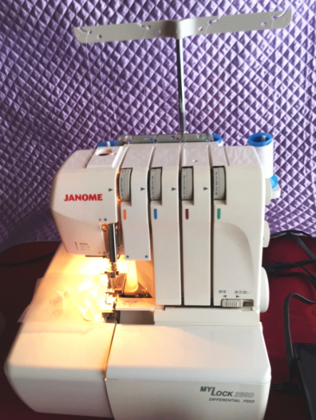 ジャノメ MYLOCK260D マイロック ロックミシン 2012年製 (17)