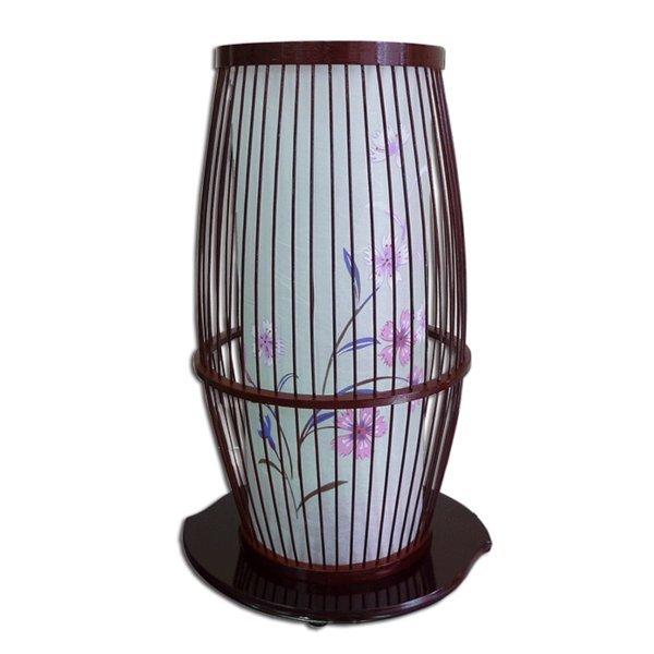 モダンでおしゃれな盆提灯回転灯です 人気の製品 京竹1号 タメ塗り 回転灯 新作アイテム毎日更新 撫子