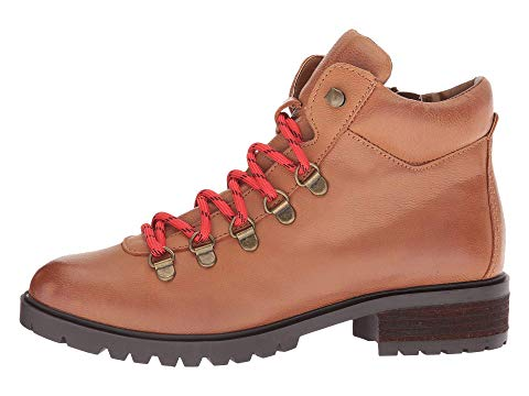 スティーブマデン Lace up Boots レディース Steve Madden Lora Cognac LeatherjL5R34AqSc