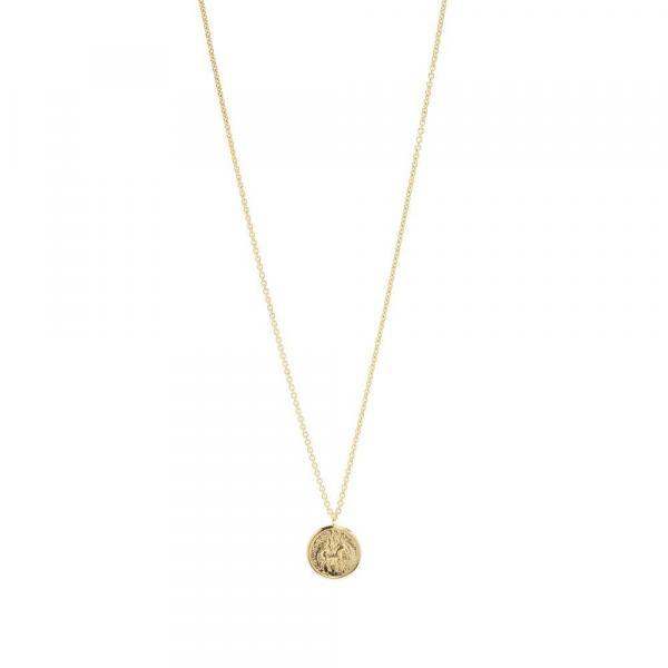 トムウッド ネックレス アクセサリー メンズ【Tom Wood Coin Pendant】Gold