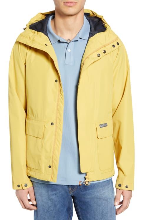 安いそれに目立つ バブアー アウター ジャケット アウター バブアー メンズ Waterproof【BARBOUR Foxtrot Waterproof Hooded Jacket】Sun Gold:Everyone's店, Fashion Recycle ビーコレクト:48fa0dd8 --- nagari.or.id