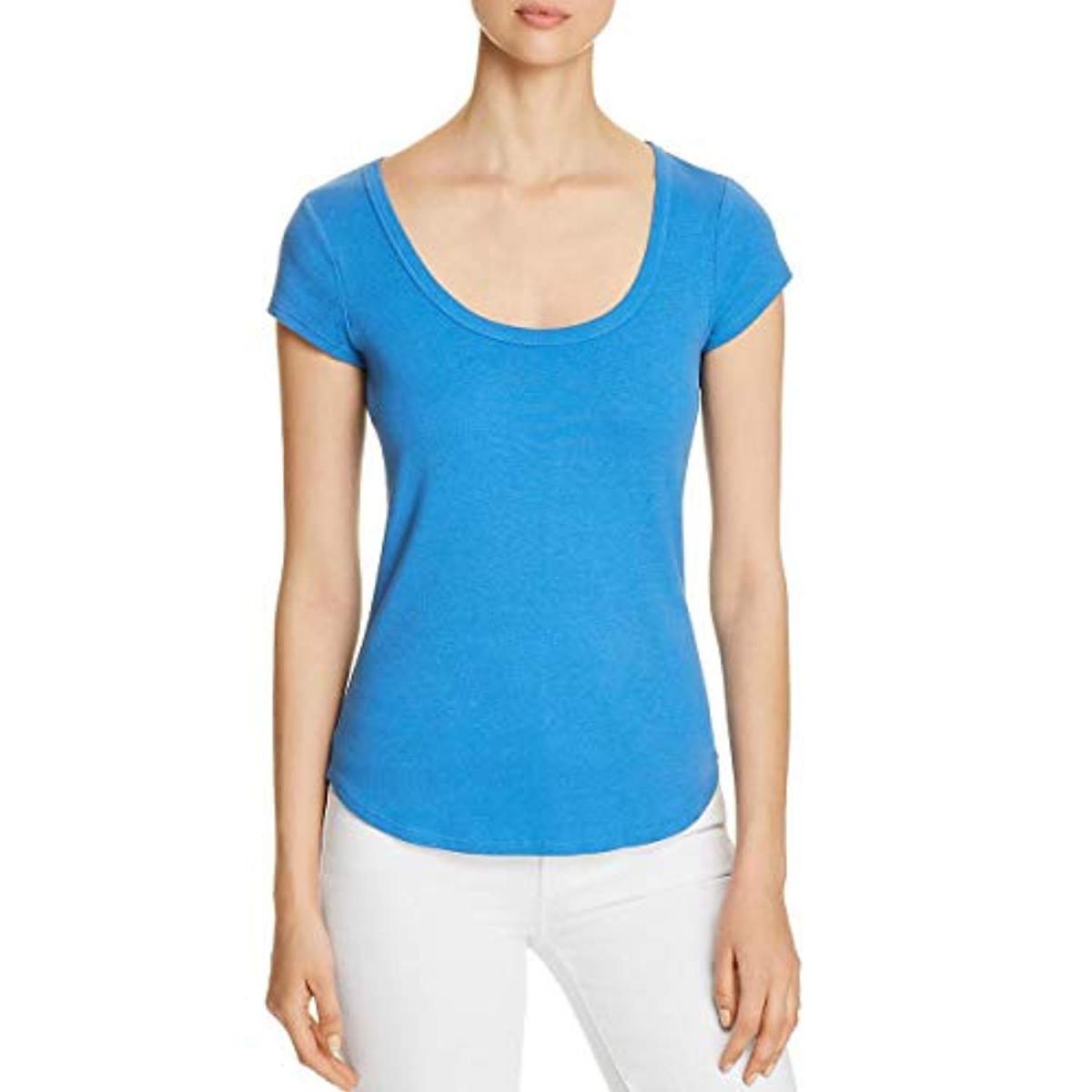 Juniors Aeropostale Womens Solid Basic T-Shirt 119 XS