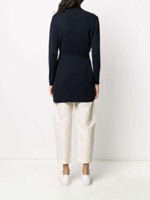 Filippa K ロングカーディガン レディースtwo pocket belted cardi coat Blue4qR3AL5cj