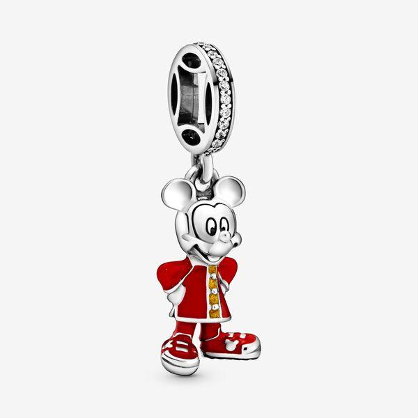 パンドラ チャーム レディース【Pandora Disney Mickey Mouse Dangle Charm】Silver