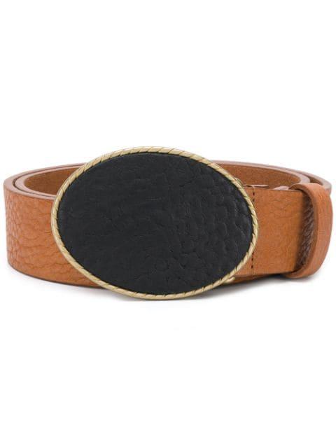 アンダーソンズ ベルト アクセサリー メンズ【Andersons oval buckle belt】Brown