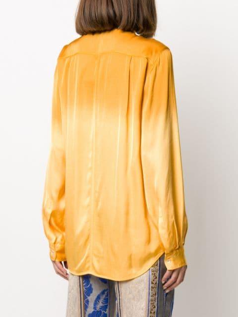 フォルテフォルテ シャツ ジャケット レディース Forte Forte collared relaxed shirt GoldkXZOPuTi