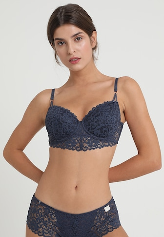 エスプリ ブラジャー ブラ 下着 レディース【Esprit AUTH STAR VALLEY DAILY PADDED - Underwired bra - gre