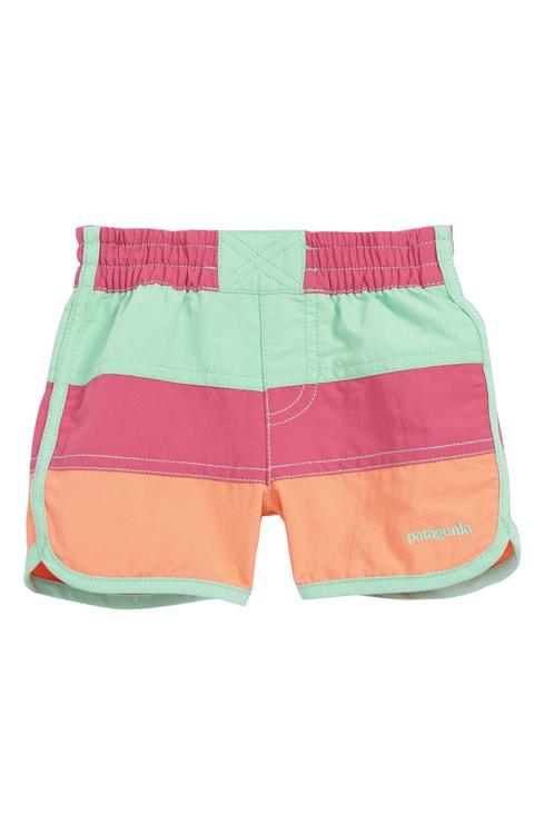 パタゴニア 水着 ベビー【PATAGONIA Board Shorts】Repi Reef Pink