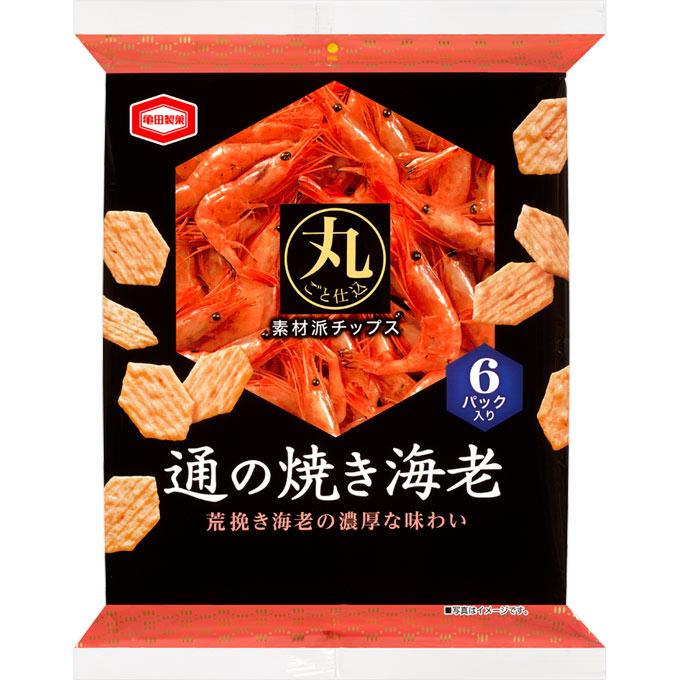 亀田製菓 通の焼き海老 70g