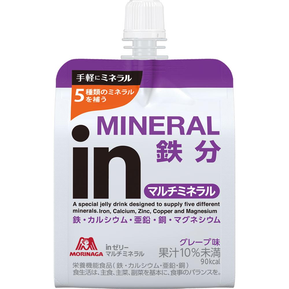 森永製菓 ウィダーinゼリー マルチミネラル 180gx6Px6