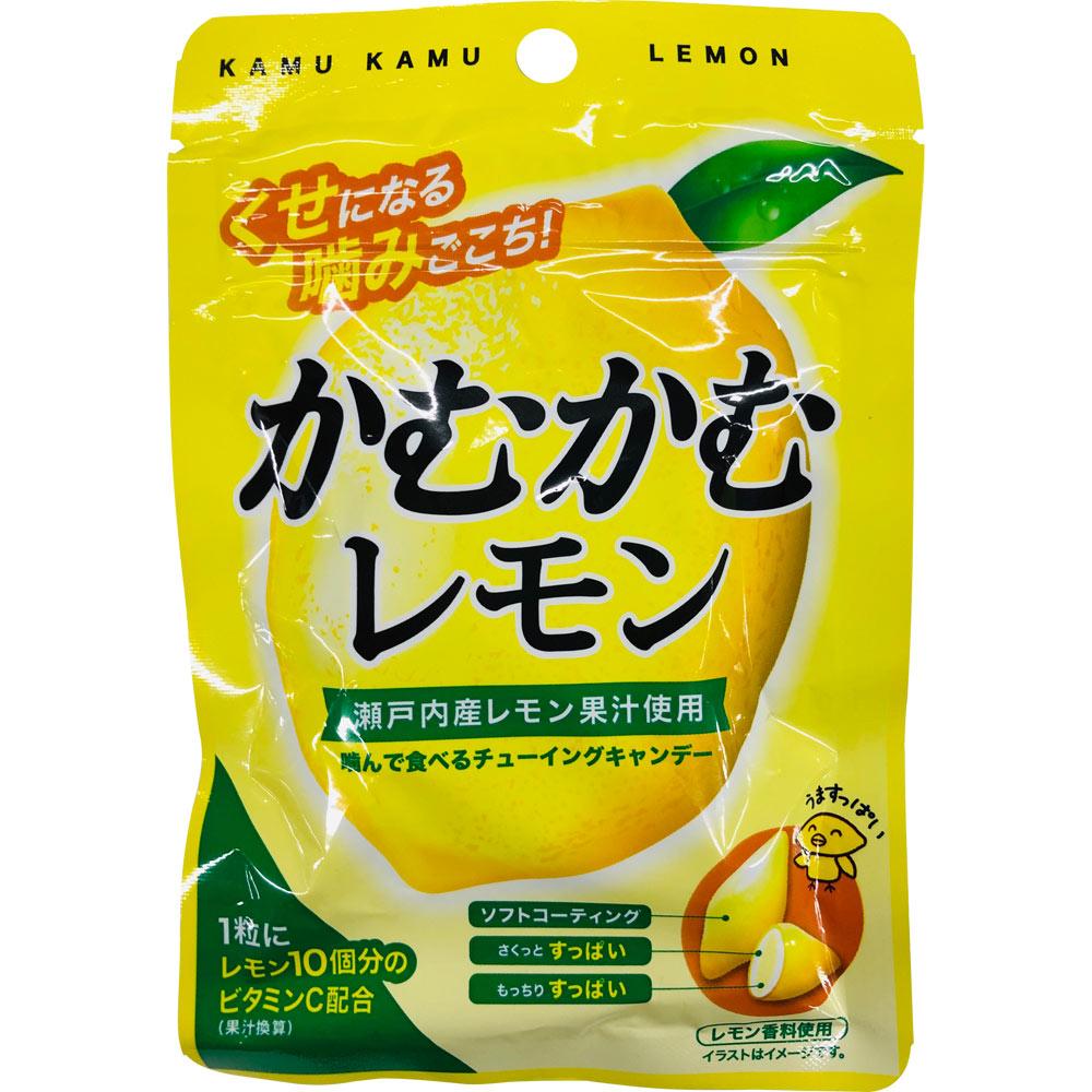 在庫あり 新入荷 流行 税込3 980円のお買い上げで送料無料 ドラッグストアマツモトキヨシ 市場店 30g 袋 かむかむレモン 三菱食品