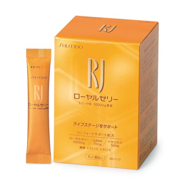 【資生堂】RJ(ローヤルゼリー)RJ<顆粒>(N)6個おまけ1個付き 15,000円以上お買い上で美容ドリンク1本プレゼント中!