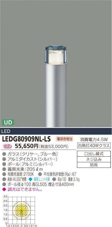【有名人芸能人】 E-CORE LEDガーデンライト300シリーズ LEDG80909NL-LS【setsuden_led E-CORE】, TRADHOUSEFUKIYA:2fbc679e --- canoncity.azurewebsites.net