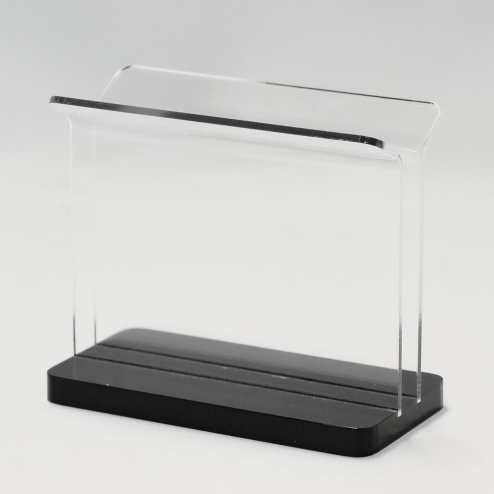 メニューブックスタンド MBS-S10 小 アクリル製 1個【メニュー立て】