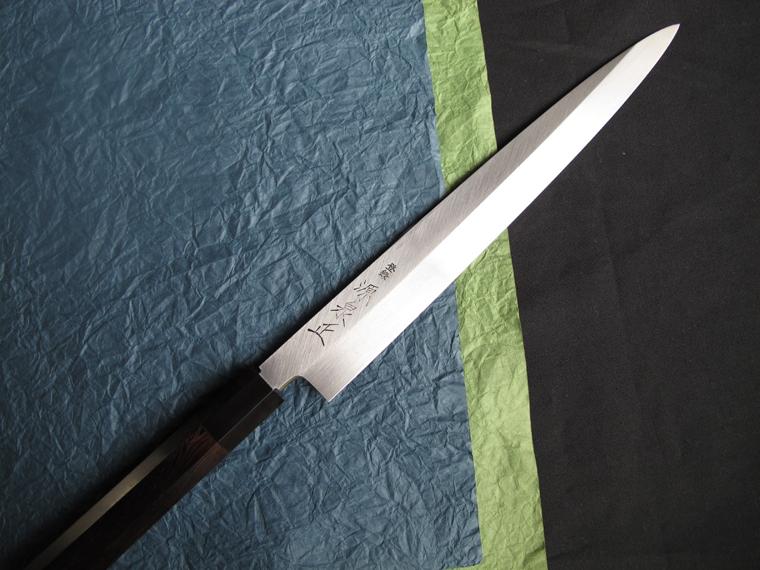 預繳積極藍紙超級八柳樹葉片刀前 mikohata (300 毫米)