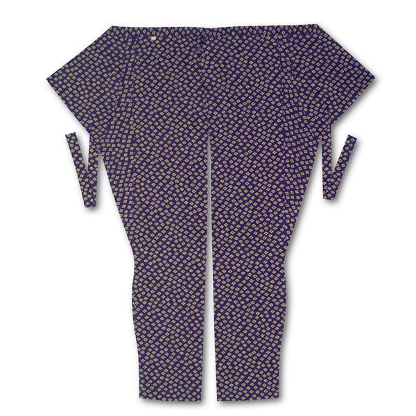 商い 江戸一 大人用 股引 驚きの値段で 小紋 大素材:綿100% 中 菊小紋サイズ:小