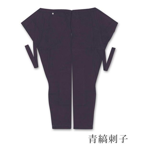 江戸一 大人用 股引青縞刺子サイズ:相型・小・中・大素材:綿100%
