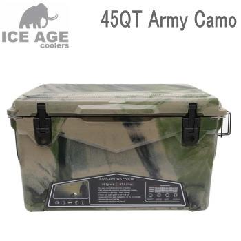 iceage アイスエイジクーラーボックス 45QT 42.6L Army Camo ILC045ACA 送料無料