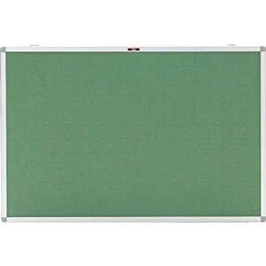 エコロジークロス掲示板 900X1800 グリーン 暗線入り トラスコ KE-36SGA