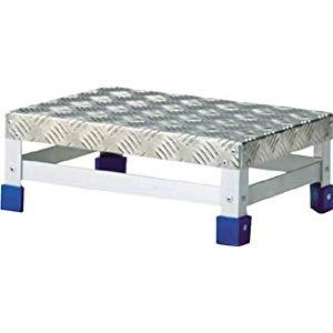 ステップ アルミ製・縞板タイプ 400X300XH150 トラスコ TFS-1543