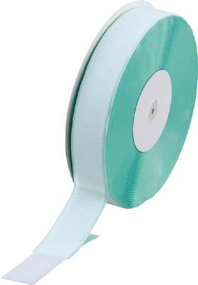 マジックテープ 糊付B側 幅50mmX長さ25m 白 トラスコ TMBN-5025-W