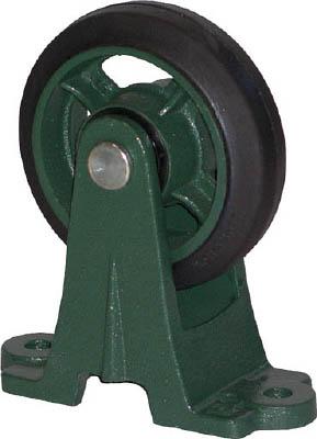 鋼鉄製運搬車用 鋳物金具自在キャスター200ゴム車 トラスコ TAJ-200