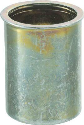 クリンプナット薄頭スチール 板厚3.5 M4X0.7 1000入 トラスコ TBNF-4M35S-C