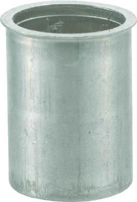 クリンプナット薄頭アルミ 板厚2.5 M8X1.25 500入 トラスコ TBNF-8M25A-C