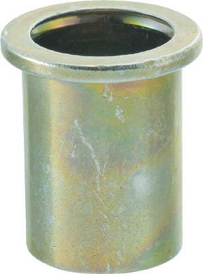 クリンプナット平頭ステンレス 板厚4.0 M6X1.0 100入 トラスコ TBN-6M40SS-C