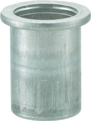 クリンプナット平頭アルミ 板厚4.0 M8X1.25 500入 トラスコ TBN-8M40A-C