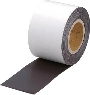 マグネットロール 糊付 t1.0mmX巾100mmX10m トラスコ TMGN1-100-10