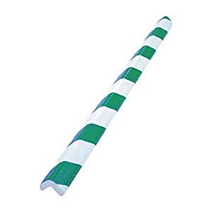 安心クッションL字型大 緑・白 10本入り トラスコ T10AC-101