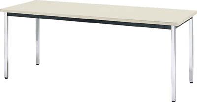 会議用テーブル 1800X750XH700 角脚 トラスコ TDS-1875 NG