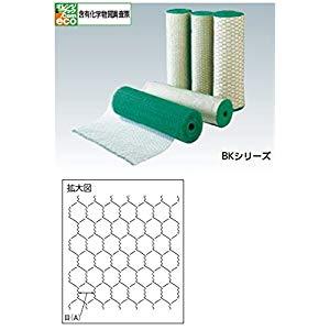 ビニール亀甲金網 線径0.9X目10X20m巻 トラスコ BK-2010-20
