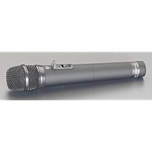 充電式マイク(EA763CF-11用) エスコ EA763CF-11B