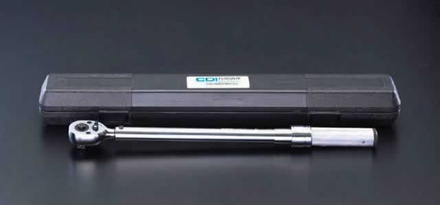 60-340N・m/1/2DR [ラチェット式]トルクレンチ エスコ EA723KL-4
