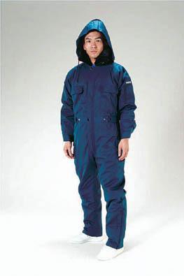 [L] 防寒継ぎ服(青) エスコ EA996AR-12