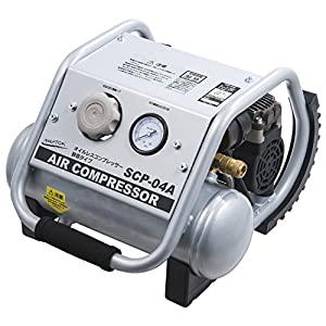 新品未使用 DIY工具用品 空圧機器 コンプレッサー オイルレス エアーコンプレッサー 全商品オープニング価格 SCP-04A 4L ナカトミ