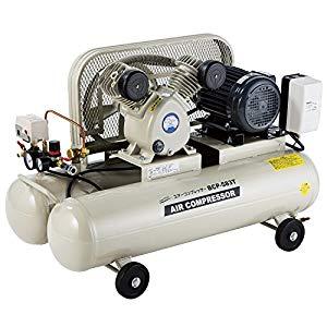 エアーコンプレッサー 200V 58L ナカトミ BCP-583T
