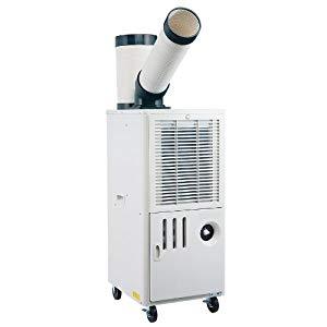 排熱ダクト付スポットクーラー 単相100V ナカトミ SAC-1000