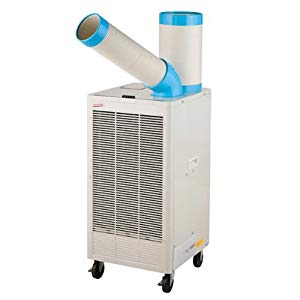 ◆排熱ダクト付き スポットクーラー 単相100V 自動首振り ナカトミ N407-TC