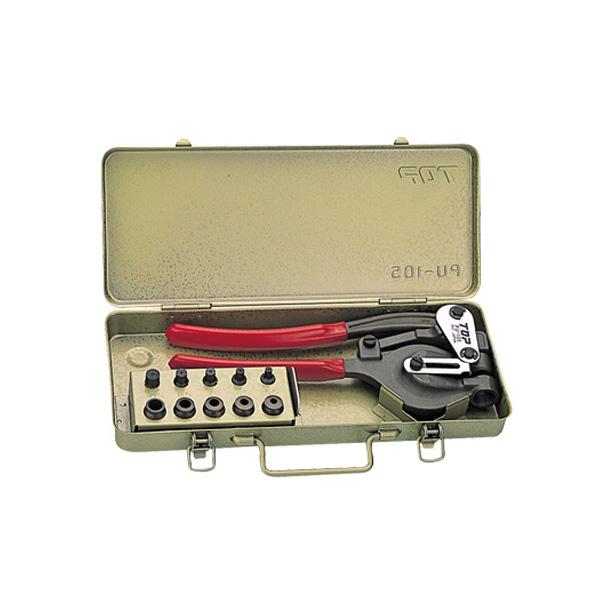 ハンドパンチセット トップ工業 PU-105