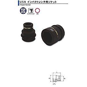 インパクトレンチ用 ソケット1(25.4)x67mm 旭金属 US0867