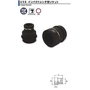 インパクトレンチ用 ソケット1(25.4)x71mm 旭金属 US0871
