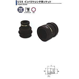 DIY工具用品 作業工具 作業工具その他 インパクトレンチ用 ソケット1(25.4)x85mm 旭金属 US0885