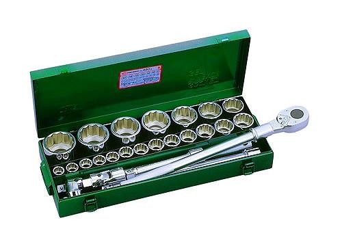 ソケットレンチセット 26点 19mm トネ 230M