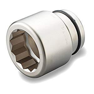 インパクト用ソケット(12角) 1・1/2X75MM トネ 12AD-75